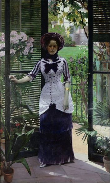 Albert Bartholome _In the Greenhouse (1881)