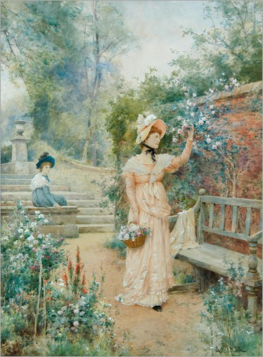 Alfred Augustus Glendening (1861-1907) - Sweet the rose, 1902
