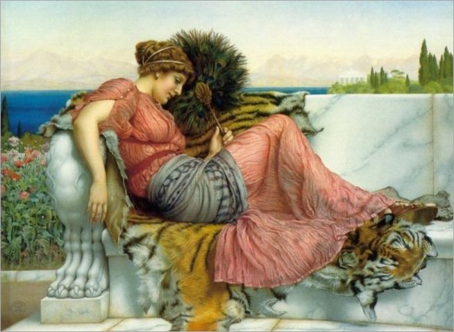 amaryllis_John William Godward