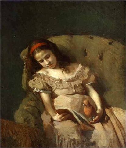 Books Got Her (1872). Ivan Nikolaevich Kramskoy (Russian, 1837-1887)