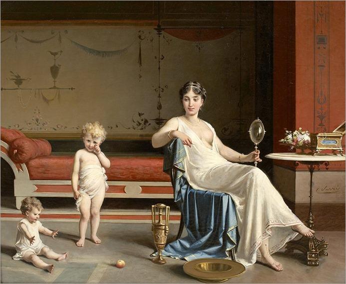 Egisto-Sarri (italian, 1837-1901)_Heure-de-jeux