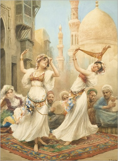 Fabbio Fabbi (1861-1910) The Dance