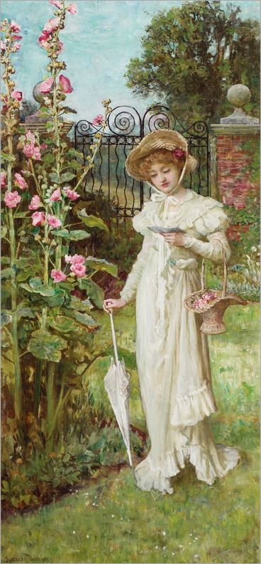 Francis Sydney Muschamp - The Letter