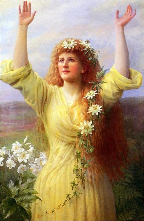 George Arthur Gaskell (1871-1900) - Rising Spring