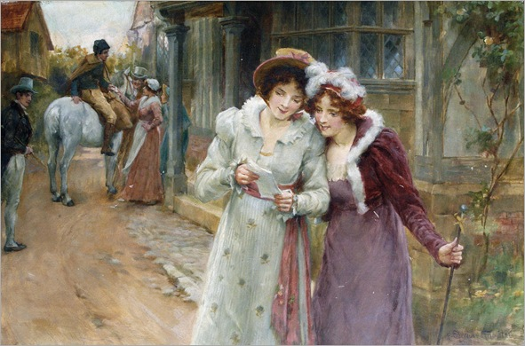 George Sheridan Knowles (1863 - 1921) - The love letter