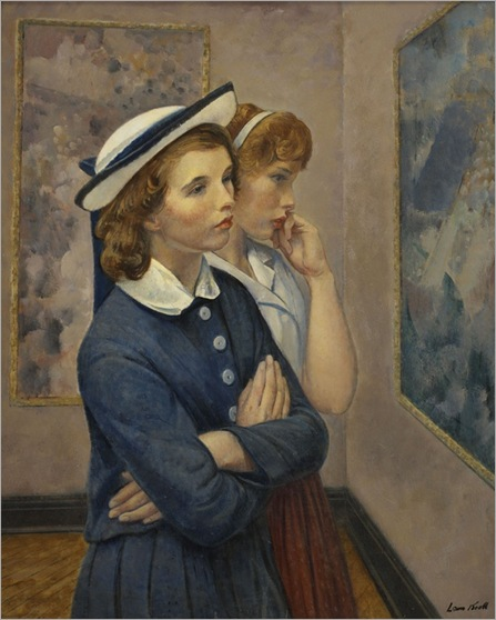 Girls at the Exhibition - 1964 - Leon Kroll (american painter)