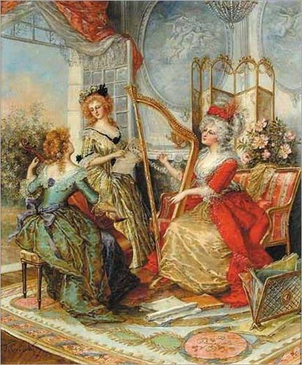 Gougelet, J. (19th century) - The Music Lesson