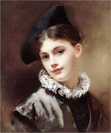 GustaveJeanJacquet_a_coquettish_smile