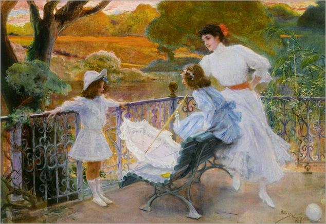 In the Park - 1907 - Jose Villegas y Cordero (spanish painter)