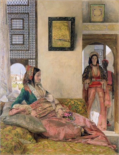 John Frederick Lewis, Life in a Harem, Cairo