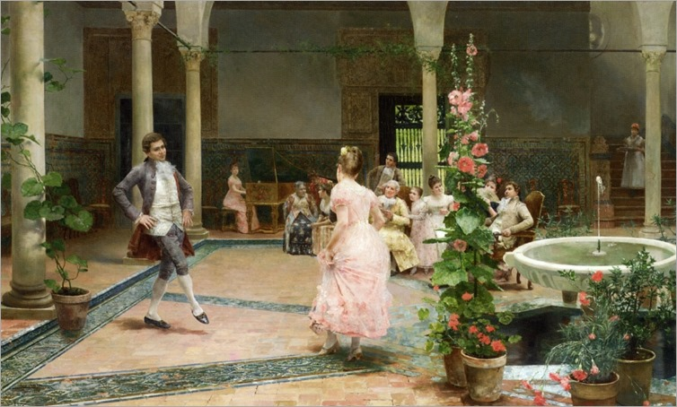 JoseJimenezAranda - The Dancing Lesson