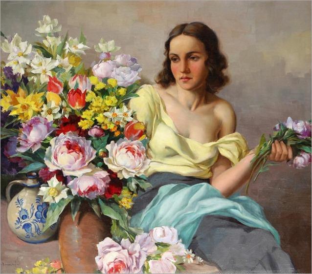Krasický Marcel (Kvasice 1898 - 1968) Spring Flowers (1)