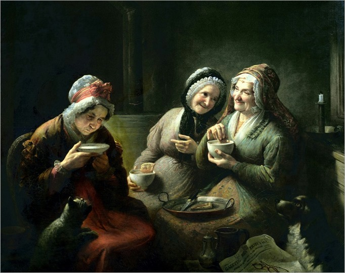 louis-grosclaude-the_three_gossips