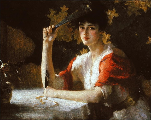 red and gold-1915-Frank Weston Benson