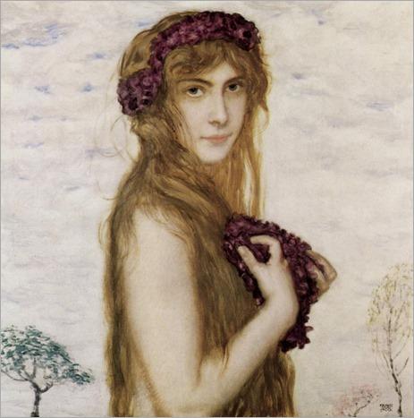Spring - Franz von Stuck-1895