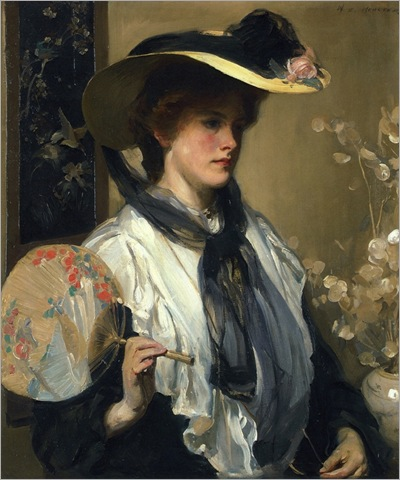 The Japanese Fan - 1909 - Walter Ernest Webster (english painter)