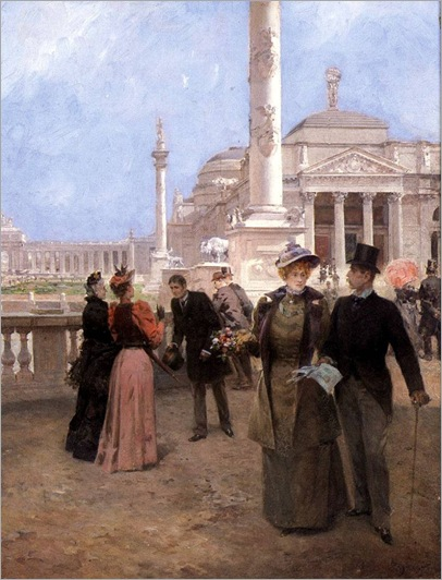 the promenade-Ludovico Marcheti