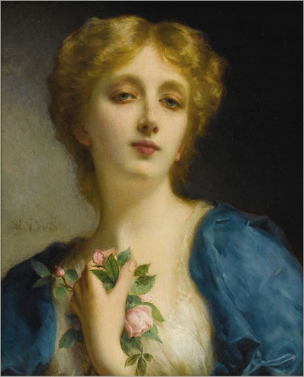 The Secret Admirer. Etienne Adolphe Piot (French,1850-1910)