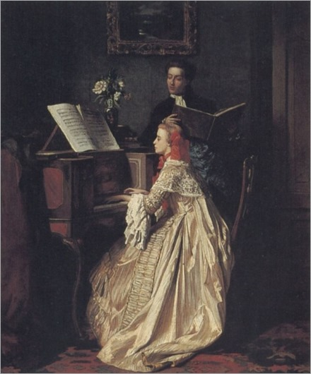 the_music_lesson-Jean-Carolus