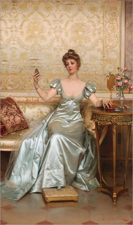 Vanity by Charles Joseph Frederic Soulacroix