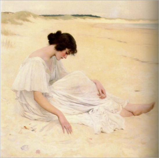 William Henry Margetson (british, 1861-1940)-castles of sand -1898_772x768