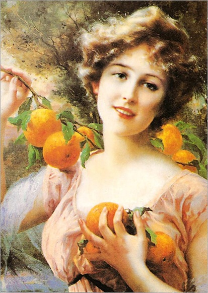 Woman-With-Oranges_EVernon