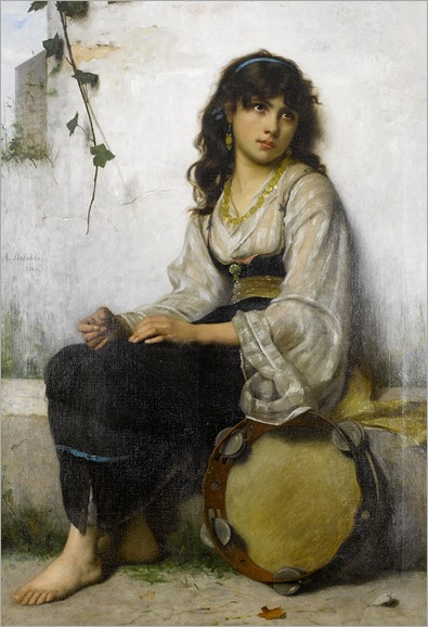 700px-Francis_Alfred_Delobbe_The_Little_Tambourine_girl_1884