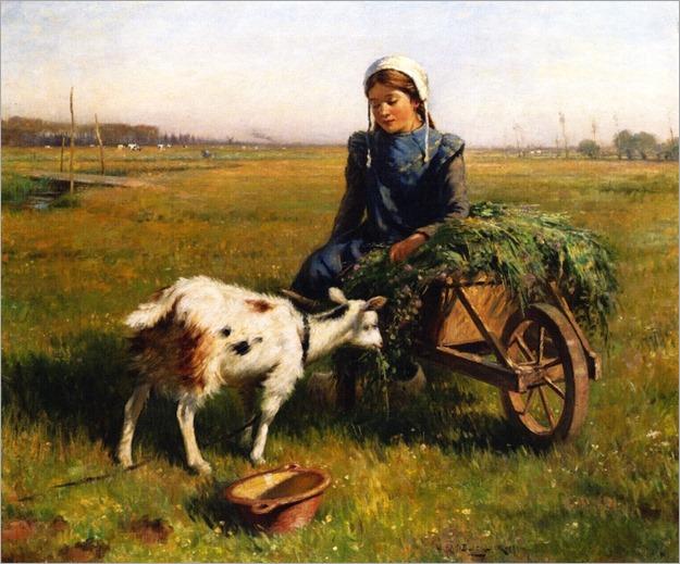 a-dutch-idyll-William Kay Blacklock