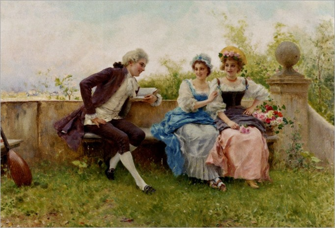 Andreotti_Federico (Italian, 1847-1930)_The_Poem