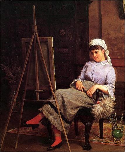 Edgar Melville Ward (American, 1839-1915) Resting 1883-4