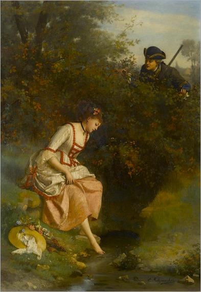 Emile Pierre Metzmacher (1815-1890) - Secretly admired