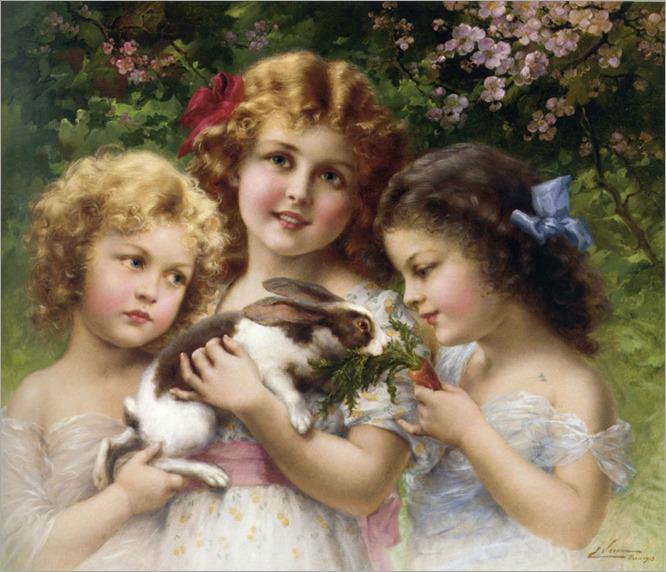 Emile_Vernon_The_pet_Rabbit