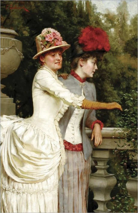 Frédéric_Soulacroix_Women_on_a_Balcony