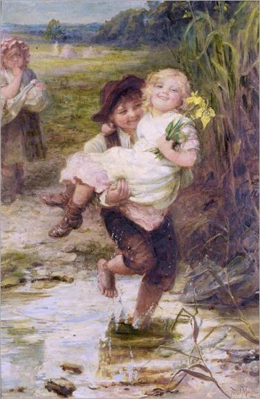 Frederick Morgan - The Young Gallant