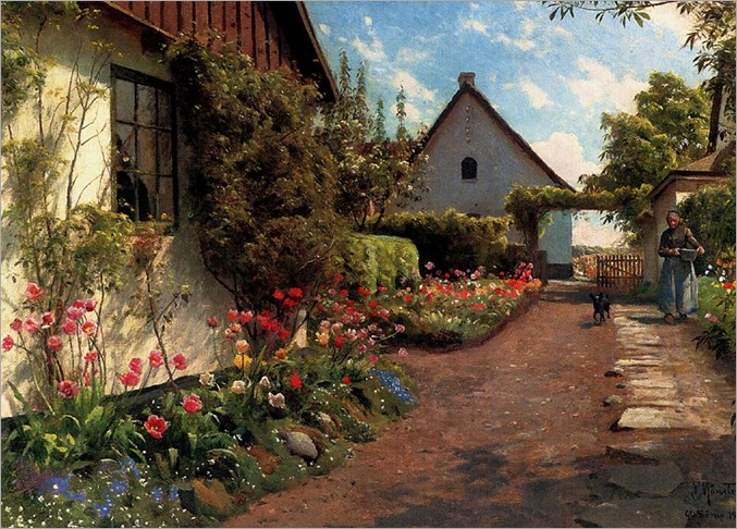 In The Garden-Peder Mork Monsted