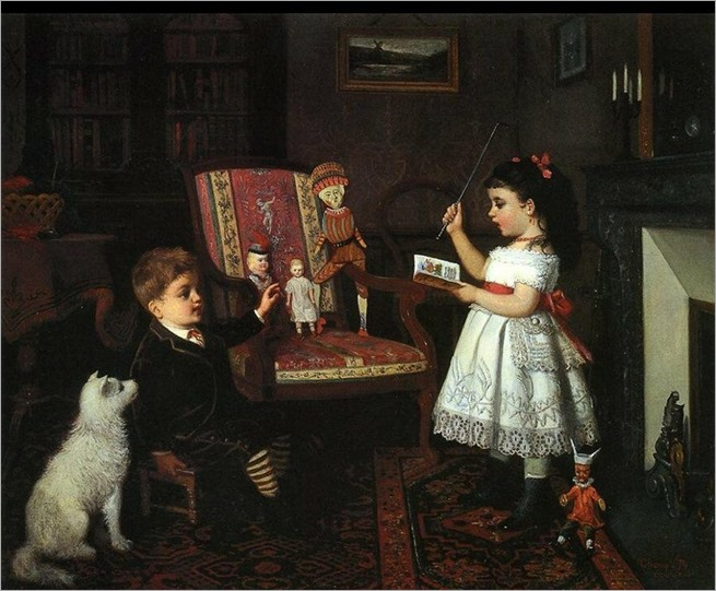 james_wells_champney_the lesson_1874