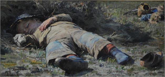 Johan Krouthén - sleeping boy
