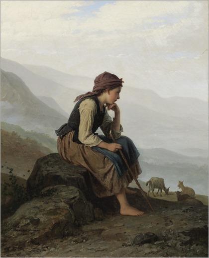Johann_Georg_Meyer_von_Bremen_-_Die_Ziegenhirtin