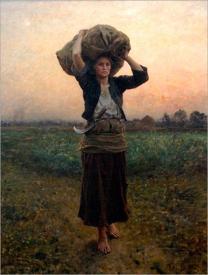 Jules-Adolphe-Breton-The Shepherd's Star