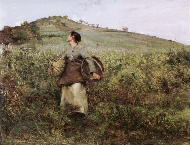 Jules Bastien-Lepage - Harvest time-Date unknown