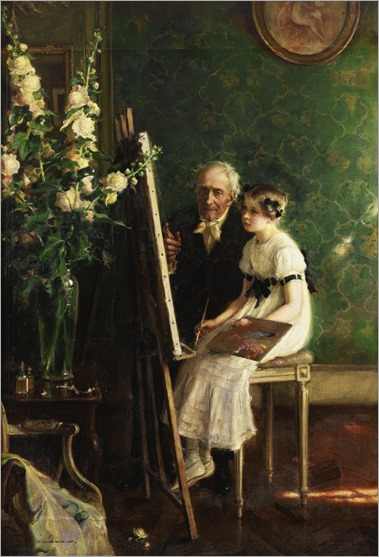 Jules_Alexis_Muenier_-The young artist