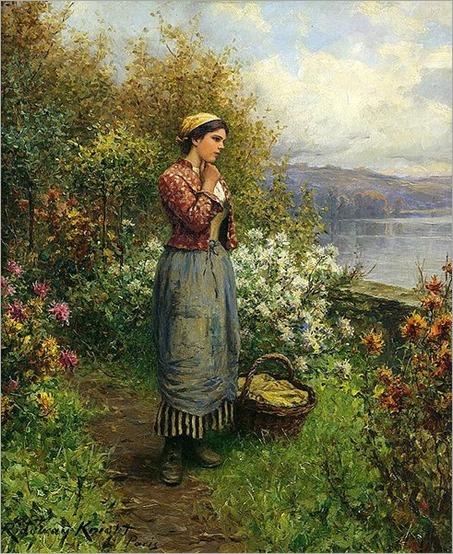 Knight_Daniel_Ridgway_Julia_on_the_Terrace_1909
