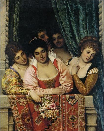 Ladies-on-a-Balcony-eugene-de-blaas