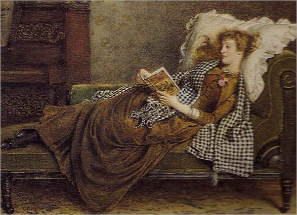 Ladyreading_George Goodwin Kilburne Kilburne