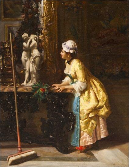 Luis Alvarez Catala (1836 - 1901) - Admiring Cupid and Psyche, 1872