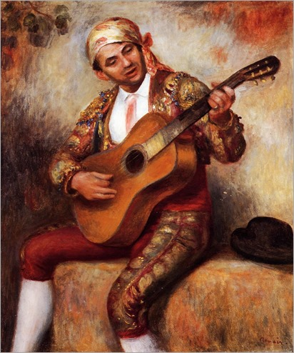 Pierre Auguste Renoir_The-Spanish-Guitarist-1897