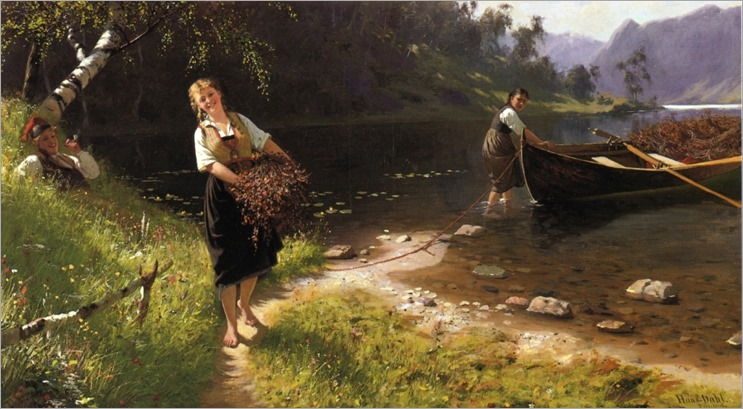 Returning from a Day's Outing - Hans Dahl