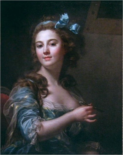 self-portrait -1783- Marie-Gabrielle Capet (1761-1818) - Neoclassic french painter