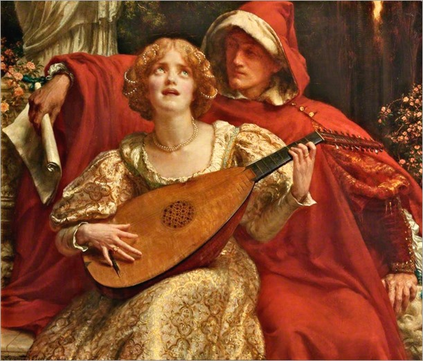 Sigismund Christian Hubert Goetze (british, 1866-1939)- Thy Voice is like to Music heard ere Birth 1902