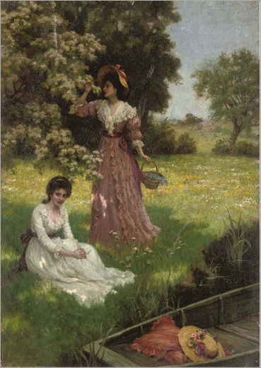 spring blossoms_Charles Haigh Wood